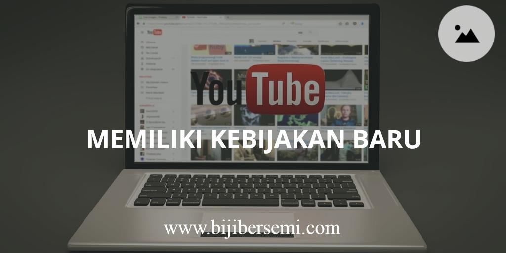 Youtube Merubah Kebijakan Untuk Channel Video Yang Akan Didaftarkan Iklan, Sabar Ya