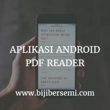 13 Aplikasi PDF Reader Terbaik Yang Bisa Anda Manfaatkan Di Handphone Android Anda