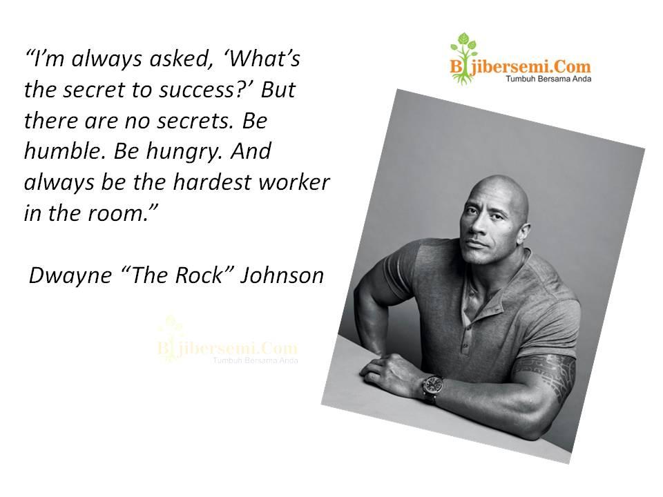 """Anda Tahu Dwayne Johnson ? Ini 10 Quotes Inpiratif dari Seorang """"The Rock"""""""