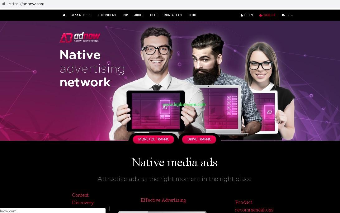 Tidak Diterima Adsense, Adnow Alternatif Iklan Berbayar Selain Adsense