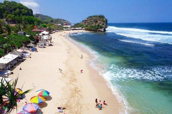 liburan ke pantai indrayanti Jogja, pantai indrayanti yogyakarta, pantai indrayanti